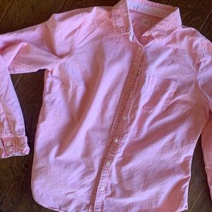 🍎Light Pink Women's JCP Button Down - L